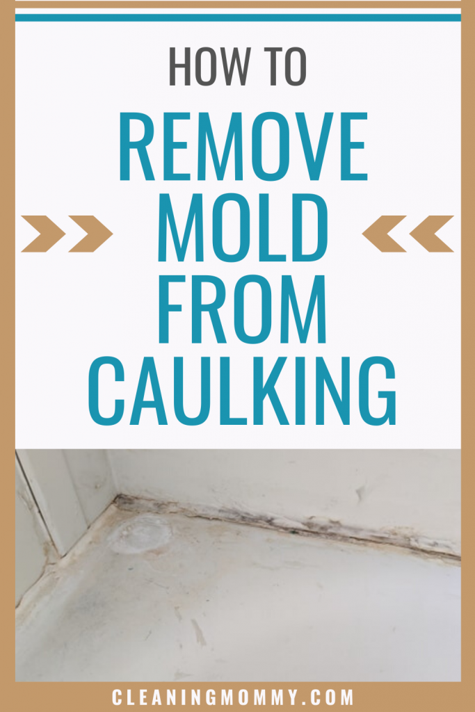 How to remove mold from bathtub or shower caulk