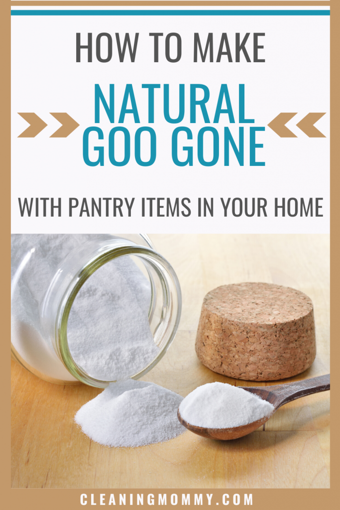 goo gone instructions