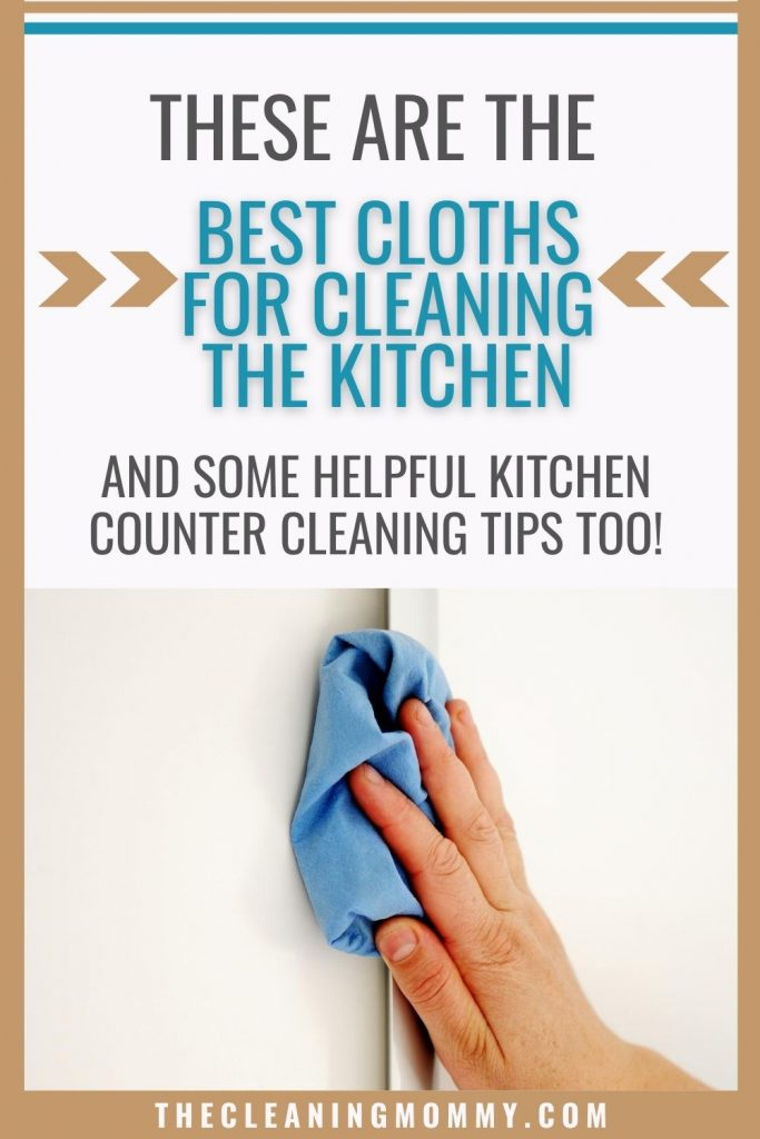 best cloth for cleaning the kitchen