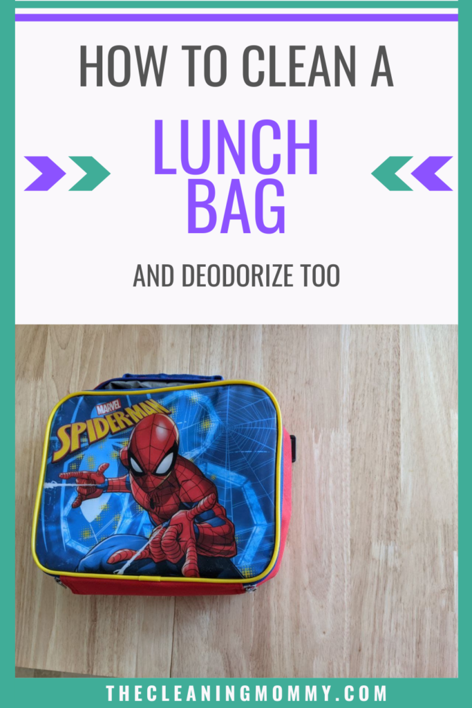 how to clean a lunchbox