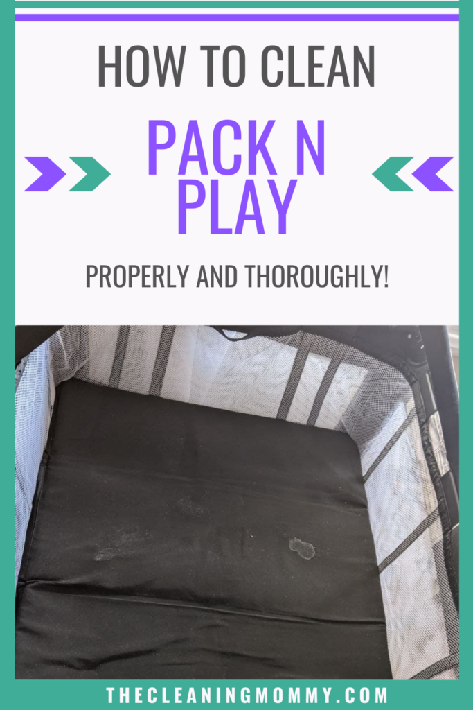 how to clean pack n play mattress