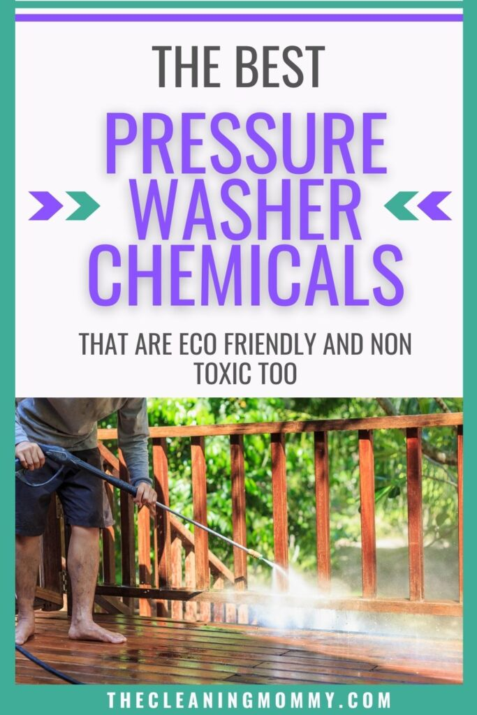 best pressure washer chemicals