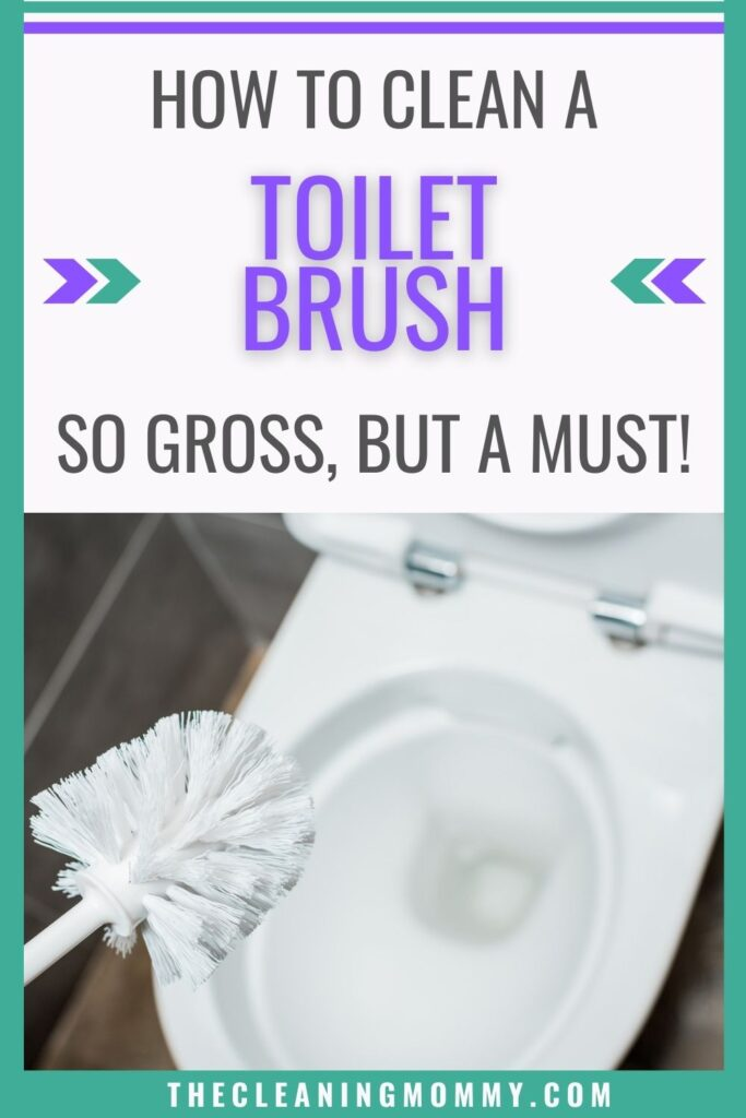 how to clean a toilet brush