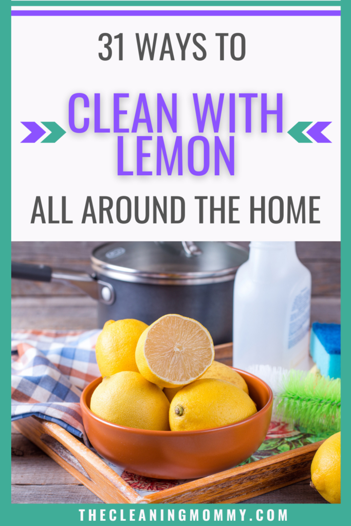 Clean with lemon
