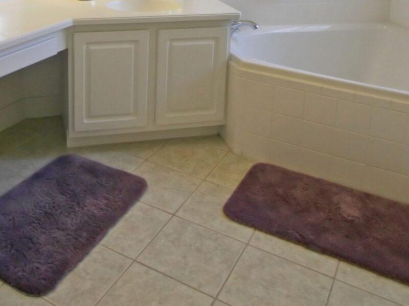 Clean Bathroom Rugs